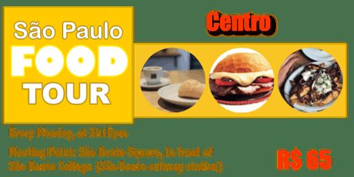 São Paulo FOOD TOUR - Centro