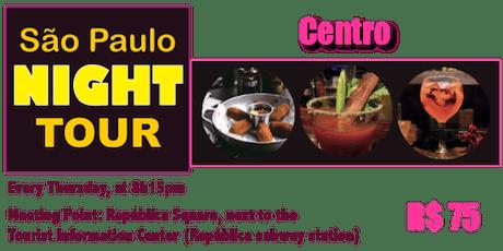 São Paulo NIGHT TOUR - Centro tickets