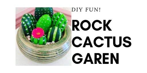 DiY Rock'N Cactus Garden