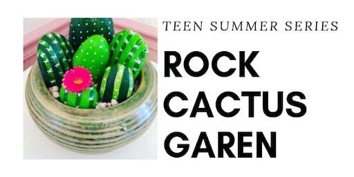 TEEN DiY Rock'N Cactus Garden