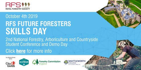 RFS Future Foresters Skills Day 2019 (2nd RFS National Student Conference) tickets