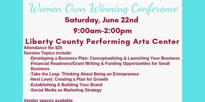 Women Own Winning Conference
