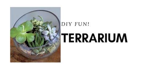 DIY Terrarium tickets