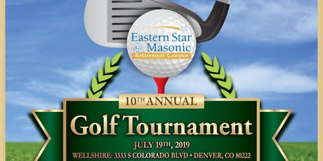 10 Annual Eastern Star Masonic Retirement Campus Golf Tournament tickets