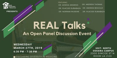 REAL Talks: An Open Panel Discussion Event