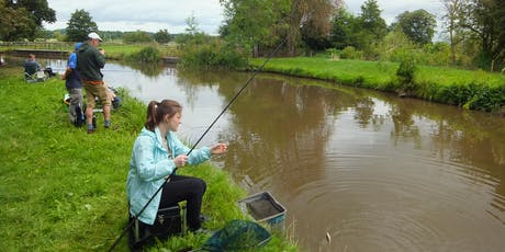 Free Let's Fish Trent & Mersey Canal - Learn to Fish Sessions - Burton Mutual tickets