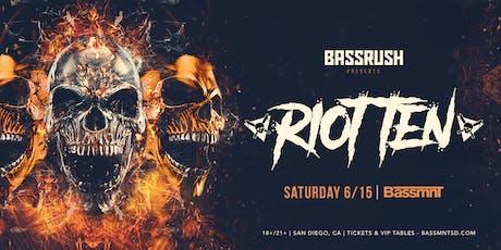Riot Ten at Bassmnt Saturday 6/15 tickets
