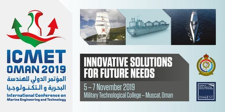 International Conference on Marine Engineering and Technology Oman 2019 tickets