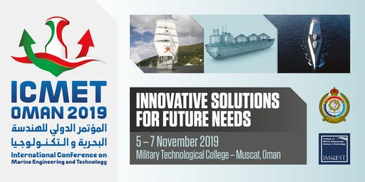 International Conference on Marine Engineering and Technology Oman 2019