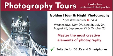 Golden Hour & Night Photography tickets