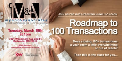 Roadmap to 100 Transactions: Secrets to Building a Top 1% Real Estate Team