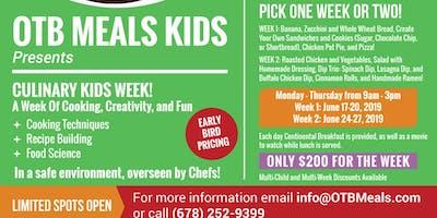 Culinary Kids Week!
