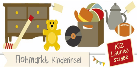Flohmarkt Kinderinsel - Launitzstrasse Frankfurt - 14. September 2019 Tickets
