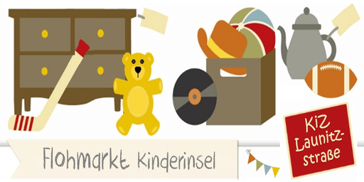 Flohmarkt Kinderinsel - Launitzstrasse Frankfurt - 14. September 2019