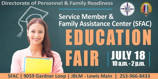 JBLM SFAC Education Fair 2019