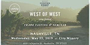West of West Wine Festival - NASHVILLE - TRADE ONLY