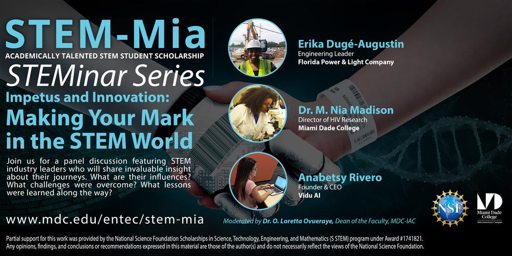 Nsf Stem Mia Presents Impetus And Innovation Making Your Mark In