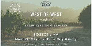 West of West Festival - BOSTON - TRADE ONLY