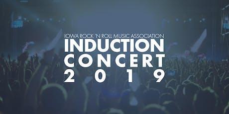 Iowa Rock 'n Roll Music Association's 2019 Induction Concert tickets