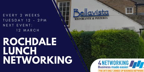 Rochdale Business Networking Lunch tickets