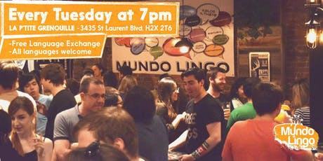 Mundo Lingo Tuesdays billets