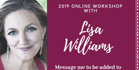 Mediumship Workshop Online with Lisa Williams tickets