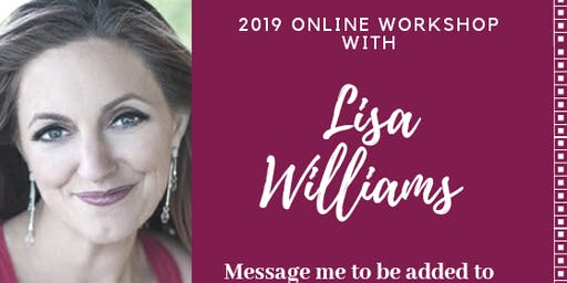 Mediumship Workshop Online with Lisa Williams