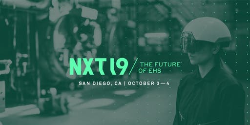 NXT 2019: The Future of EHS