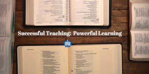 Sunday School (Successful Teaching: Powerful Learning Module 2) - Columbia, MD