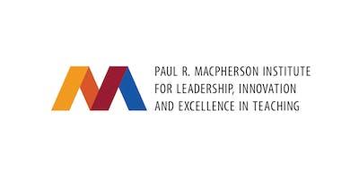 MacPherson Institute - Strategic Planning Consultation Session B