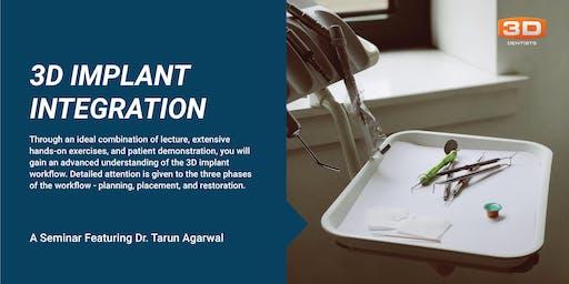 CBCT 4 -3D Implant Integration - June 21-22, 2019