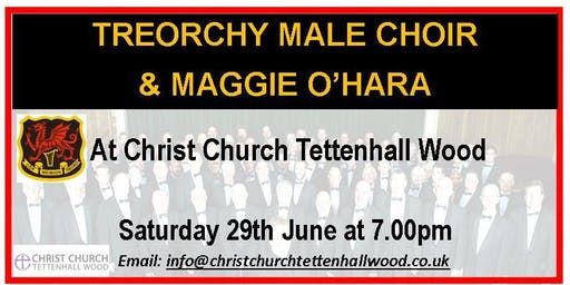 The Treorchy Male Choir & Maggie O'Hara at Christ Church