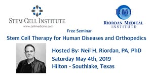 Stem Cell Therapy for Human Diseases and Orthopedics