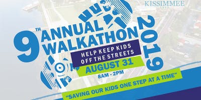 9th Annual HELP KEEP KIDS OFF THE STREETS! Walkathon