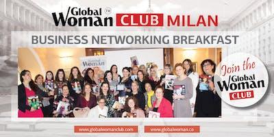 GLOBAL WOMAN CLUB MILAN: BUSINESS NETWORKING BREAKFAST - JULY