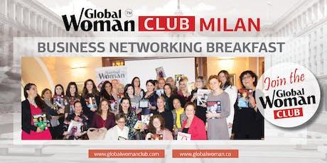 GLOBAL WOMAN CLUB MILAN: BUSINESS NETWORKING BREAKFAST - JULY tickets