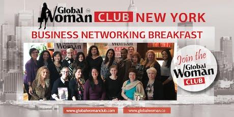 GLOBAL WOMAN CLUB NEW YORK: BUSINESS NETWORKING BREAKFAST - JULY tickets