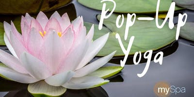 Pop-Up Yoga at mySpa Chicago