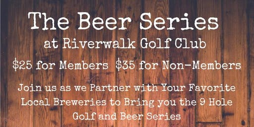 Riverwalk Golf Club Beer Series - Stone Brewery