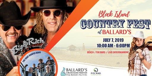 Ballards Country Fest - Featuring Big & Rich