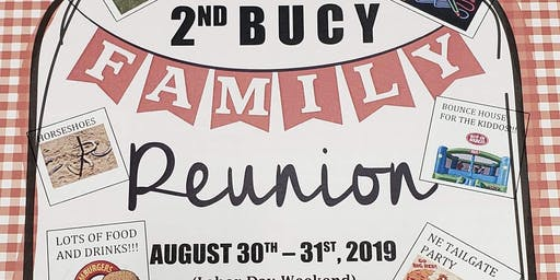 Bucy Family Reunion