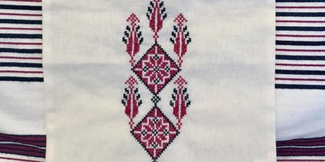 Palestinian Tatreez Embroidery: Advanced Motifs on Tote Bags tickets