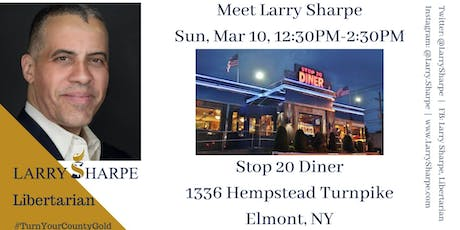 Larry Sharpe for New York Events | Eventbrite