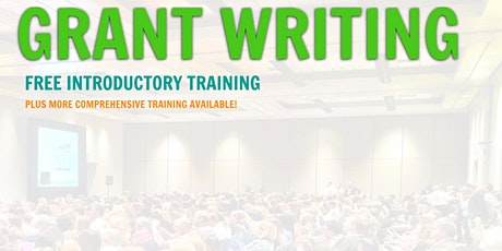 Grant Writing Introductory Training... San Jose, California	 tickets