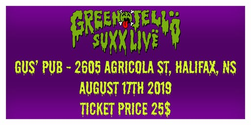 Green Jelly live in Halifax