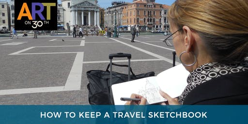 How to Keep A Travel Sketchbook with Lori Mitchell