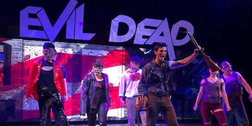 Evil Dead The Musical: The HD Tour. Thursday, 1/2 8PM