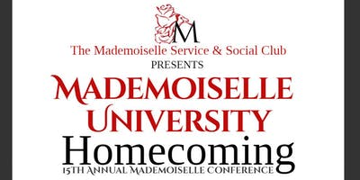 15th Annual Conference: Mademoiselle University Homecoming