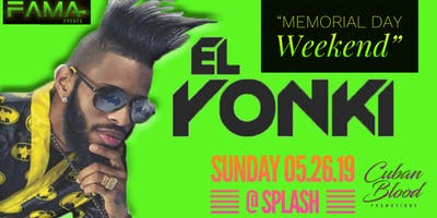 """El Yonky"" (Directly From Cuba)  Performing Live"" @ Splash Ultra Lounge"