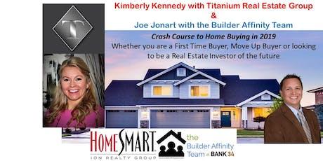 Home Buyer Class (home buying) w/ Kimberly Kennedy & Joe Jonart tickets